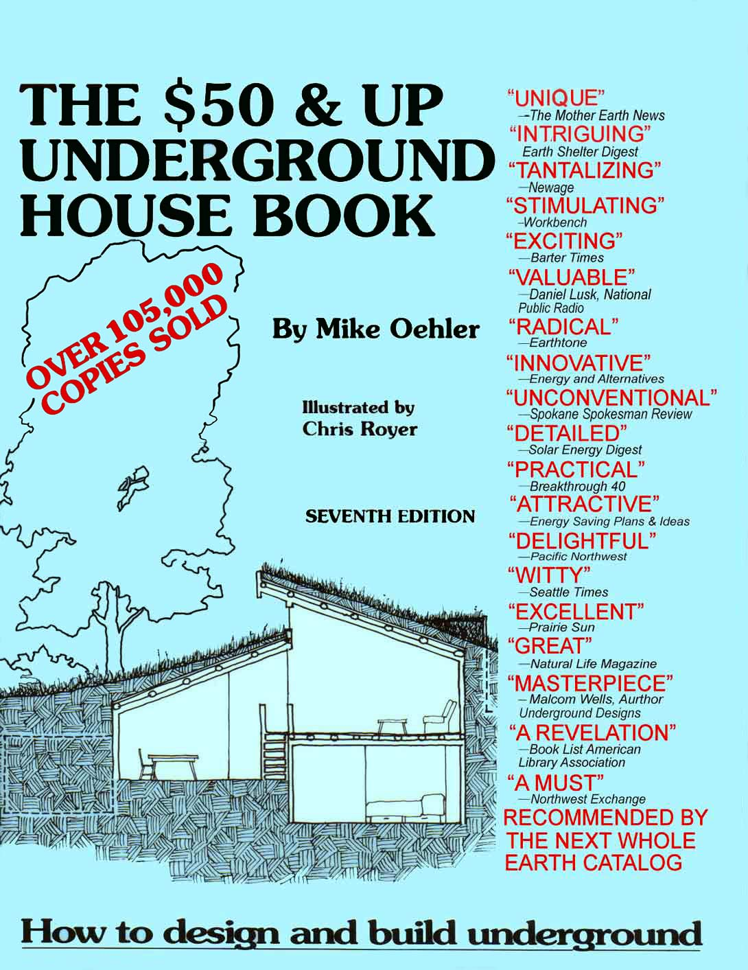 50 And Up Underground House Book Housing