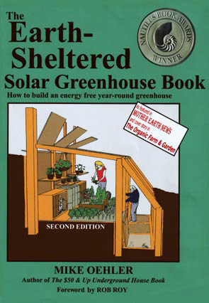Earth Sheltered Solar Greenhouse Book